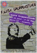 Neue Falken-Gruppenstunde ab 13.10.2016 im Barrio137