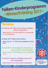 Neue Termine für unser Kinderprogramm im Winter/Frühling2017