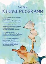 Juhu! Die neuen Flyer für das Kinderprogramm sindda!