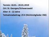 Schneefreizeit im Schwarzwald