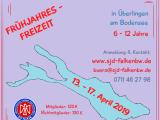 13. – 17. April '19: Frühjahresfreizeit amBodensee