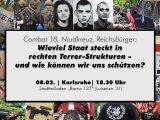 08.02.20: Vortrag der Antifa Jugend 76: Combat 18, Nordkreuz,Reichsbürger