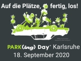 Wir Falken beim parking day – 18.09.20