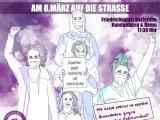 Kundgebung und Demo zum internationalen Frauen*kampftag, am 08.März