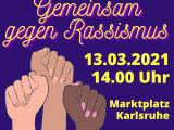 13.03.21: Kundgebung gegenRassismus